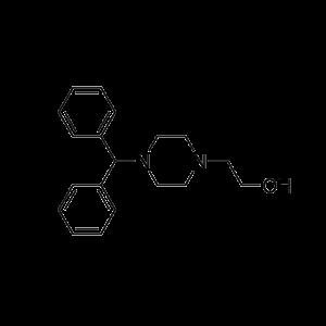 2-(4-benhdryl-piperazin-1-yl)-enthanol