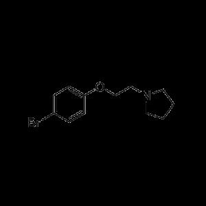 1-(2-(4-Bromophenoxy)ethyl)pyrrolidine