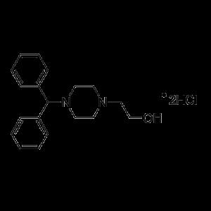 2-(4-benhdryl-piperazin-1-yl)-enthanol dihydrochloride