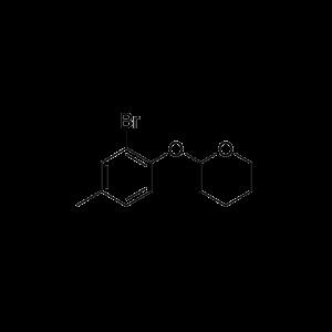 2-(2-Bromo-4-methylphenoxy)-tetrahydro-2H-pyran