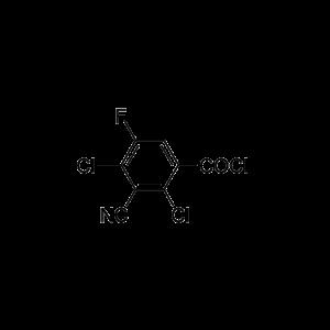 3-Cyano-2,4-dichloro-5-fluorobenzoyl chloride
