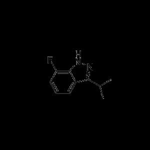 7-Fluoro-3-isopropyl-1H-indazole