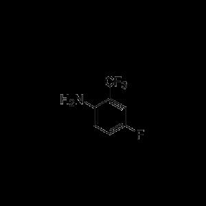 4-fluoro-2-trifluoromethylaniline or 2-Amino-5-fluorobenzotrifluoride
