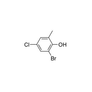 2-Bromo-4-chloro-6-methylphenol