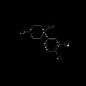 4-(3,4-Dichlorophenyl)-4-cyanocyclohexanone