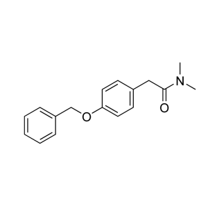 2-(4-(Benzyloxy)phenyl)-N,N-dimethylacetamide