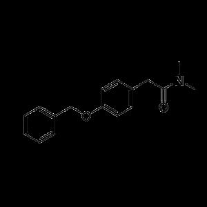 2-(4-(Benzyloxy)phenyl)-N,N-dimethylacetamide