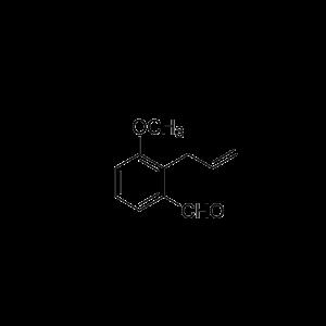2-Allyl-3-methoxybenzaldehyde 3-(6′-carbonyl-2′-methoxyphenyl)propene