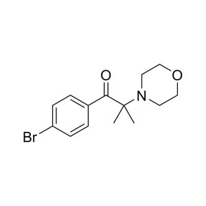 1-(4-Bromophenyl)-2-methyl-2-morpholinopropan-1-one