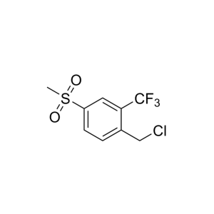 1-(Chloromethyl)-4-(methylsulfonyl)-2-(trifluoromethyl)-benzene