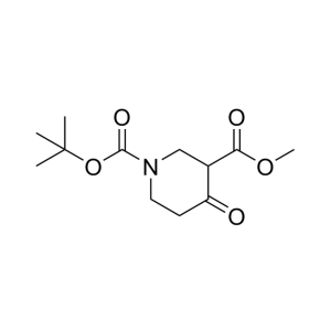 1-tert-Butyl 3-methyl 4-oxopiperidine-1,3-dicarboxylate