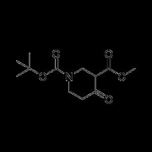 1-tert-Butyl 3-methyl 4-oxopiperidine-1,3-dicarboxylate