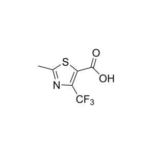 2-Methyl-4-(trifluoromethyl)-1,3-thiazole-5-carboxylic acid