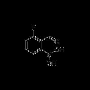 3-Fluoro-2-formylphenylboronic acid