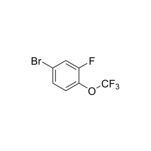 4-Bromo-2-fluoro-(trifluoromethoxy)-benzene