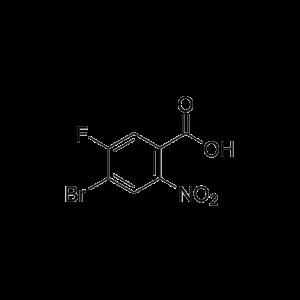 4-Bromo-5-fluoro-2-nitrobenzoic acid