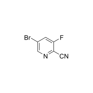5-Bromo-3-fluoropyridine-2-carbonitrile