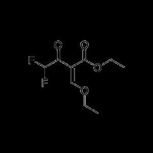 Ethyl 2-(ethoxymethylene)-4,4-difluoro-3-oxobutanoate