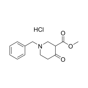 Methyl 1-benzyl-4-oxo-3-piperidine-carboxylate hydrochloride