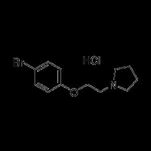 N-[2-(4-Bromophenoxy)-ethyl]-pyrrolidine hydrochloride