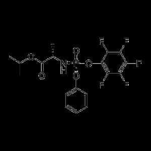 (S)-Isopropyl 2-(((S)-(perfluorophenoxy)-(phenoxy)-phosphoryl)-amino)-propanoate