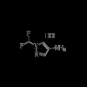 1-(Difluoromethyl)-1H-pyrazol-4-amine hydrochloride