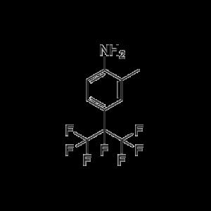 4-heptafluoroisopropyl-2-methylaniline; 2-methyl-4-(1,1,1,2,3,3,3-heptafluoro-2-propyl)aniline