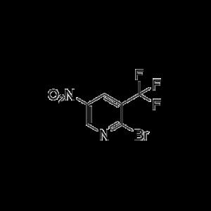 2-Bromo-3-trifluoromethyl-5-nitropyridine
